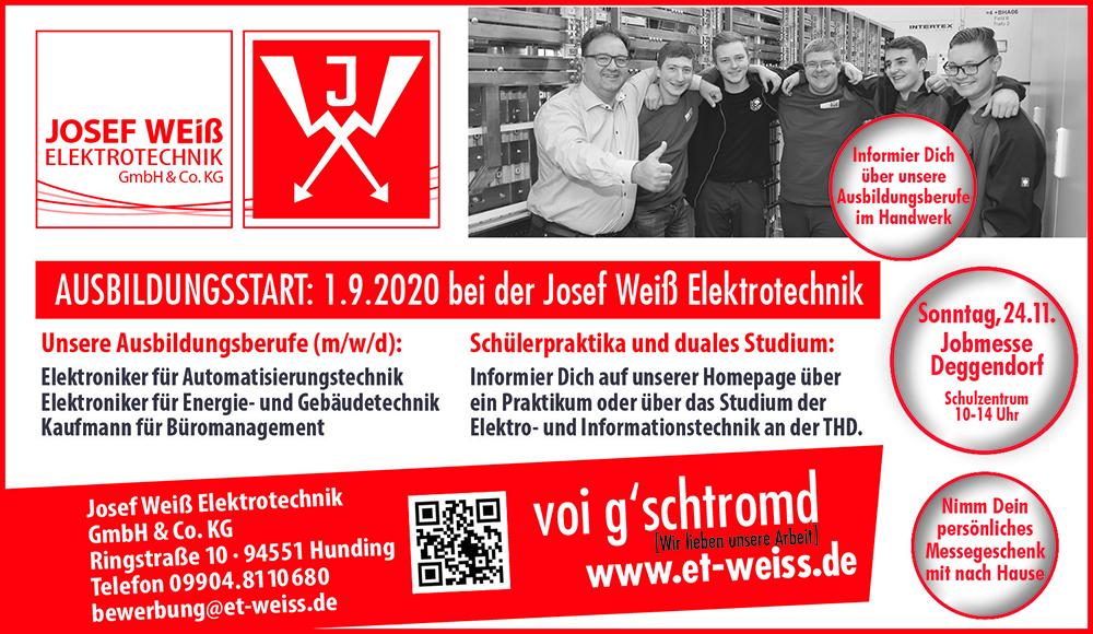 Jobmesse Deggendorf – wir sind dabei