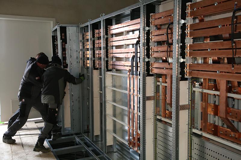Projekt zur Stromversorgung für das neue Hobelwerk des Sägewerks Schwaiger