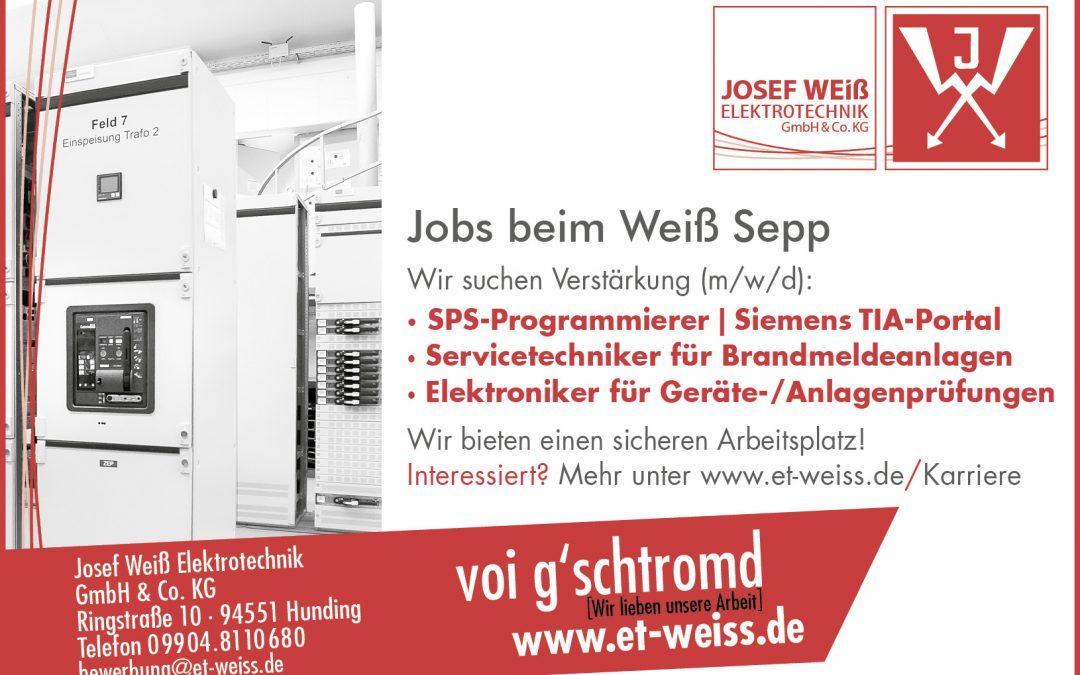 Jobs beim Weiß Sepp