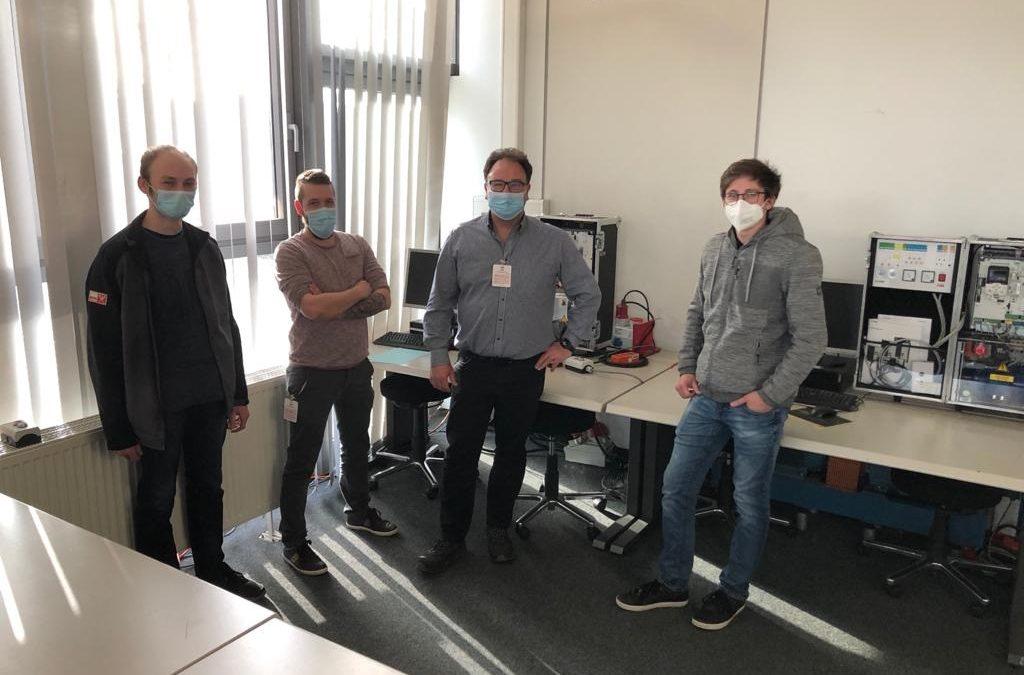 Fortbildung für Mitarbeiter der Josef Weiß Elektrotechnik bei ABB